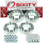 """4pc 1.5"""" Chevy 5x127mm to 5x114.3mm Wheel Spacers Adapters Astro C10 Pickup pa"""