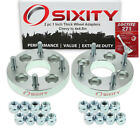 """2pc 1"""" Chevy 4x3.9"""" to 4x4.5"""" Wheel Spacers Adapters Aveo Chevette Cobalt ey"""
