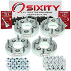 """4pc 1.25"""" Chrysler 5x114.3mm to 5x139.7mm Wheel Spacers Adapters 200 300M wi"""
