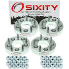 """4pc 1.25"""" Chrysler 5x4.5"""" to 5x4.75"""" Wheel Spacers Adapters 200 300M vp"""