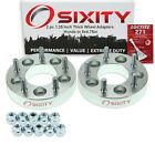 """2pc 1.25"""" Honda 5x4.5"""" to 5x4.75"""" Wheel Spacers Adapters Accord Crosstour cq"""