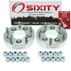 """2pc 1.25"""" Chrysler 5x4.5"""" to 5x5.5"""" Wheel Spacers Adapters 200 300M Concorde qs"""