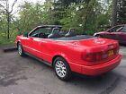 1996 Audi Cabriolet  1996 Audi Cabriolet (Red Headed East German)