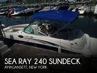 2004 Sea Ray 240 Sundeck Used