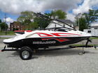 2008 SEA DOO SPEEDSTER WAKE 430 H.P. 20FT. ONLY 78 HOURS W/ TRAILER SURGE BRAKES