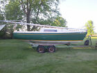 22' Morgan sailboat, cruiser, racer with sails, trailer, and outboard motor