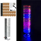 DIY 21 Audio Column Light Cube LED Music Crystal Electronic Voice Spectrum Kit