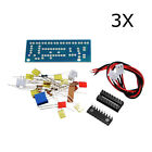 New 3Pcs DIY LM3915 Audio Level Indicator Electronic Production Suite Kit