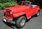 1950 Jeep Willys Jeepster 1950 Willys Jeepster Custom Convertible V8 Auto Frame Off Resto *Beautiful!