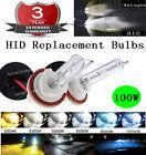 H11 H9 H8 100W Xenon HID Headlight Replacement Bulb Light Lamp 3K 5K 6k 8k 10K