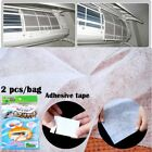 2 Pcs/set Anti-dust Car AC System Cleansing Air Condition Filter Mesh Cloth