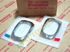 CHROME SIDE LAMP LIGHT SIGNAL COVER TOYOTA FORTUNER 2005-2010 GENUINE PARTS