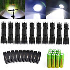 10pc Ultrafire Military Camping T615000LM LED Flashlight 18650 Police Torch Lamp