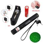Adjustable 2IN1 532nm Green Laser Pointer High Power 1mw + 18650 Battery Charger
