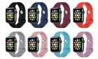 Silicone Sport Replacement Band for Apple Watch Series 1 & 2