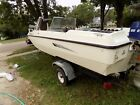 1973 Larson Tri-Hull Boat with 85HP Evinrude Outboard & Trailer