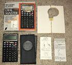 Vintage Sharp EL-6250H 8KB Dial Master Calculator Dialer Complete with Box