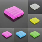 5x Plastic Battery Case Holder Storage Organizer Clear Box for 4x AA/AAA Battery