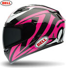 BELL Street Qualifier with 'Reactolite Visor' DLX Impulse Pink Motorbike Helmet