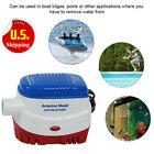 12V 1100gph Automatic Submersible Boat Bilge Water Pump Built-in Float Switch BM
