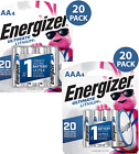 Energizer AA and AAA Ultimate Lithium Long Lasting Leakproof Batteries (40 Pack)