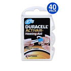 40 Duracell Activair Hearing Aid Batteries Size: 675