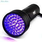 Escolite 395 nM 51 UV Ultraviolet LED flashlight Blacklight 3 AA Battery