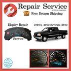 ✅ Display Repair Service   1999½ 2000 2001 2002 GMC Sierra 2500   Gauge Cluster