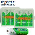 8x Rechargeable Durable 1.2V 2200mAh AA Ni-MH Battery With 2Pcs Hold Case Box