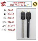 Vape-Pen Battery/ USB Charger 510 Thred O Vaporizer-Pen Bud Touch Lot of 2 - 100