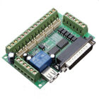 Geekcreit® 5 Axis CNC Breakout Interface Board Stepper Driver Mach3 + USB Cable