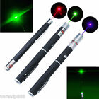 3x Laser Pointer Pen Red+Blue Violet+Green Powerful Military Visible Light 5mw