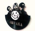 Nirvana Wall Art -Vinyl LP Record Clock or Framed -Great Rock'n'Roll Gift
