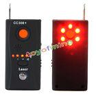 CC308+ Full Range RF Signal Camera Bug Detector Hidden Camera GPS Laser GSM US