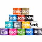 HomeDone Moving Labels 4-Bedroom House, 14 rooms, 420 Stickers