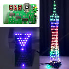 DIY Kit Electronic LED Lamp Tower/Hourglass/Flashlight/Music Butterfly lot Kit