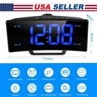 """2.0"""" Multifunctional LED Digital FM Radio Projection Alarm Clock with Dimmer"""