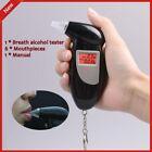 Digital Alcohol Breath Tester! Breathalyzer Analyzer Detector Test Keychain_