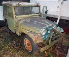 1961 Jeep CJ Hardtop, Steel doors. Hide away rear window 1961 JEEP CJ EX-MAIL DELIVERY VEHICLE HARDTOP WITH  6 FOOT PLOW