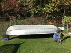 14 foot aluminum deep V river boat and outboard engine