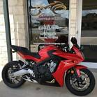 CBR -- 2014 Honda CBR650F  2,531 Miles Red Motorcycles & Scooters 650cc Manual