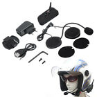 Wireless Bluetooth Headphones Motorcycle Headset 1200m Handsfree Interphone US