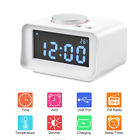 Multi-Function LED Display Alarm Clock + Bluetooth Player/Calling/Radio/Charger