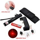 650nm Red Adjustable Laser Pointer High Power 5mw +18650 Battery Charger Holster