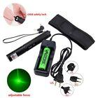 High Power Military Laser Pointer Green Light pen 5mw 532nm Adjust Focus Burning