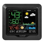 Wireless Thermometer Weather Station Color Outdoor Forecast Sensor Clock