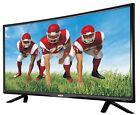 "CURVED TV HD 32"" LED 720P HDTV RCA with HDMI VGA Slim Bezel Digital Surround New"