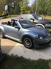 2016 Volkswagen Beetle-New Blue Denim Edition 2016 Volkswagen blue denim edition convertible