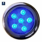 "T-H Marine LED51832DP Puck Courtesy Light 6 LED BLUE Stainl. Steel 4"" Housing MD"