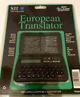 Translator European 5 language ( English,French,German,Italian,Spanish )